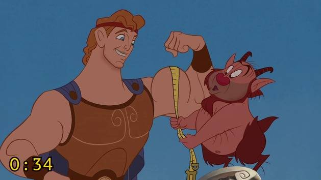 What Can Happen In Just Two Minutes - Hercules - Oh My Disney