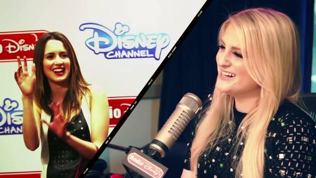 Meghan Trainor and Laura Marano - Radio Disney Insider