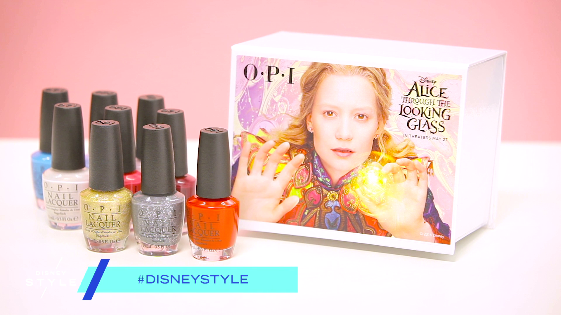 Alice Through The Looking Glass Collection by OPI | Disney Unboxed