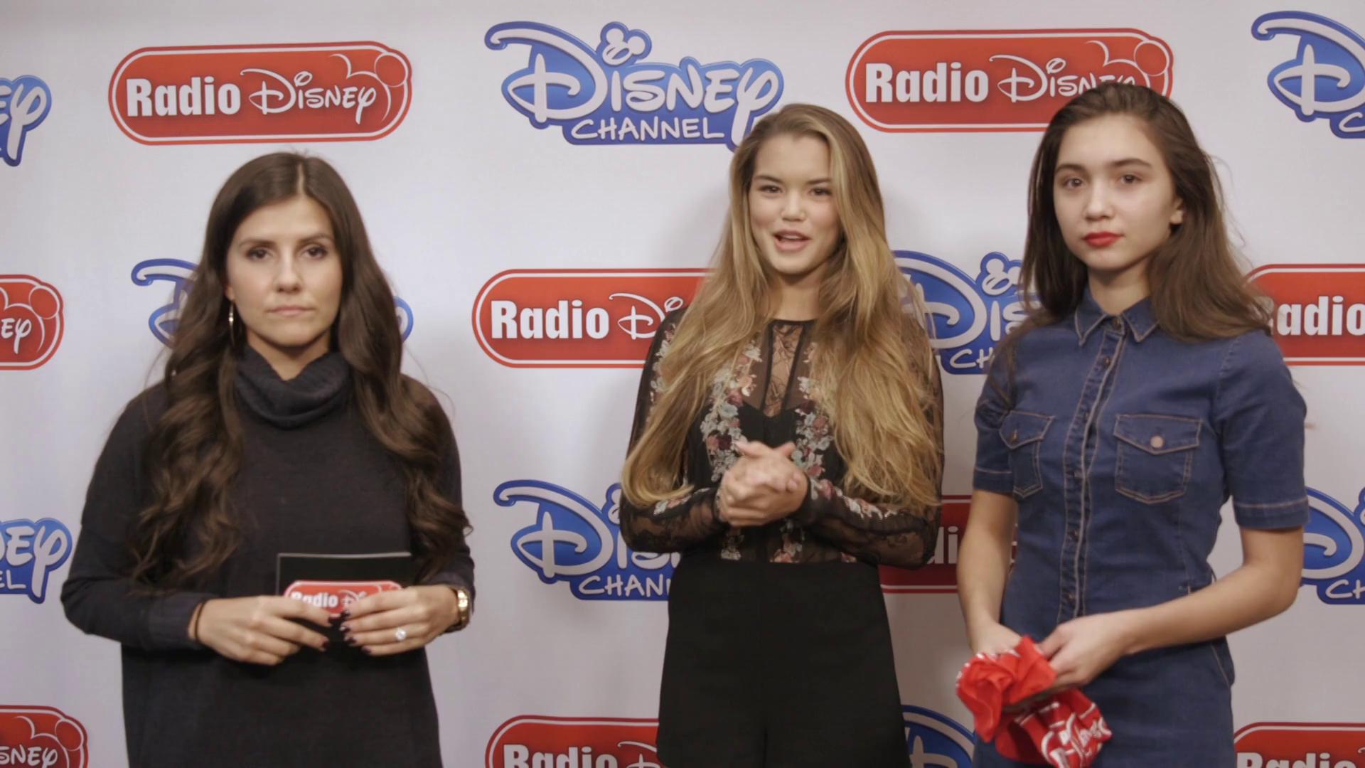 Rowan Blanchard and Paris Berelc Invisible Sister - Radio Disney