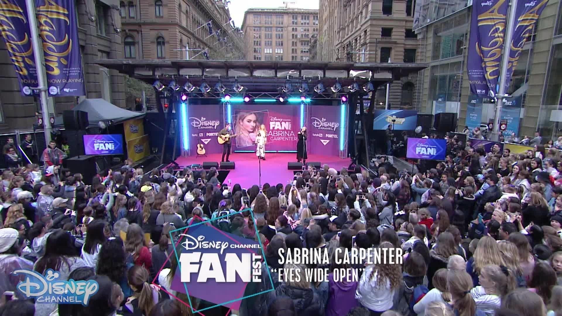 FanFest 2016 - Eyes Wide Open: Sabrina Carpenter