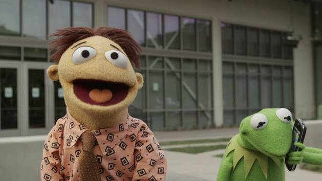 Kermit and Walter at YouTube Space LA | The Muppets