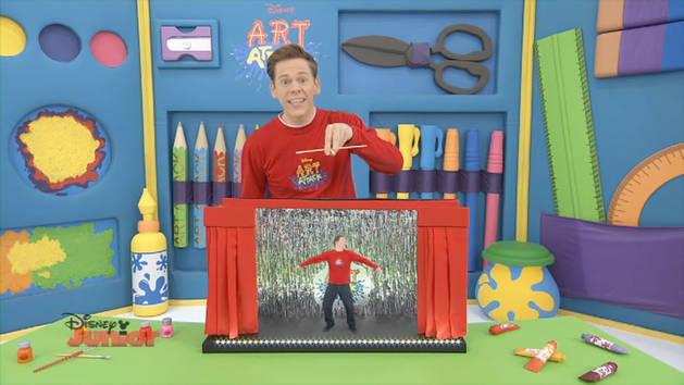 Puppet art attack disney australia disney junior - Videos de art attack manualidades ...
