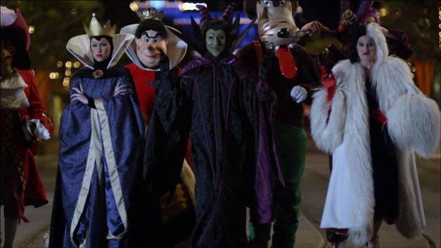Disney Villains Take Over Disneyland