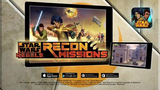 Star Wars Rebels - Recon Mission - APP