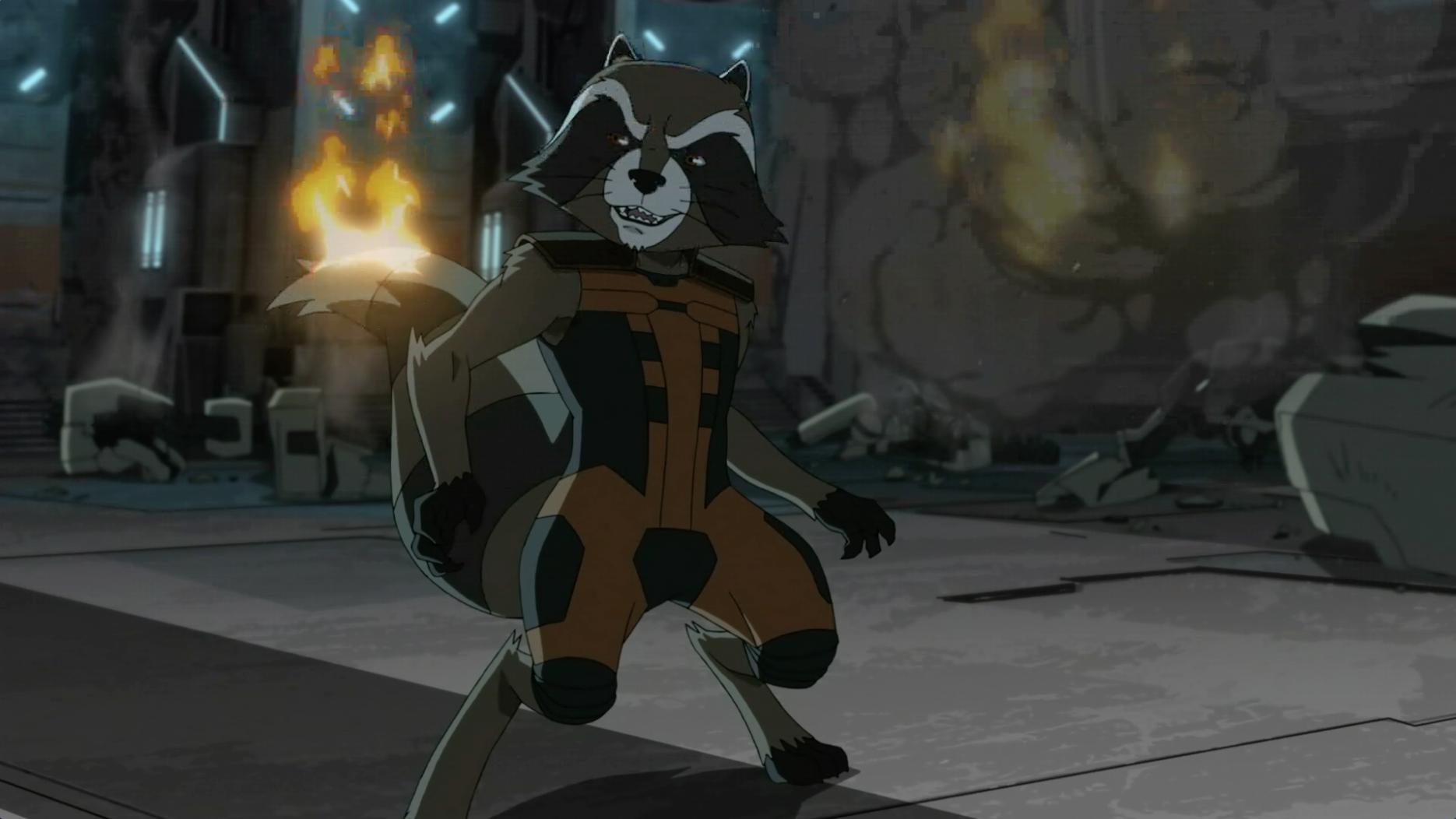 Los orígenes de Rocket Racoon - Parte 2 - Guardianes de la Galaxia