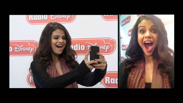 Selena Gomez Selfies - Celebrity Take with Jake