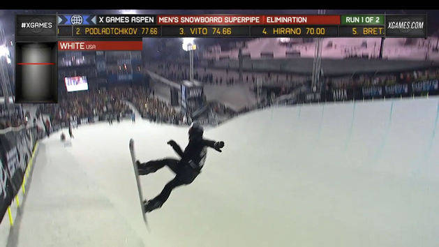 Shaun White - Men's Snowboard Superpipe