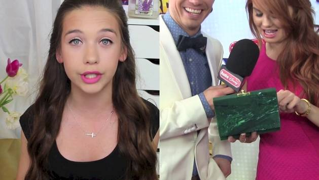 RDMA Debby Ryan Clutch Tips - A Disney Exclusive From Amanda Steele