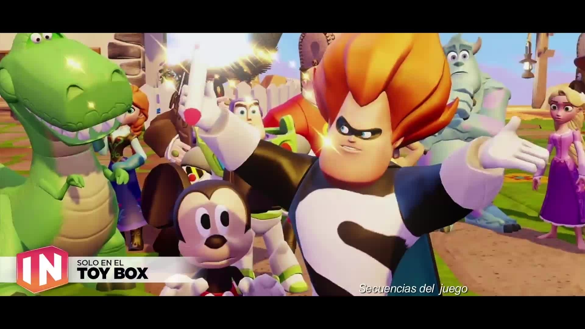 Disney Infinity 3.0: tráiler Toy Box Expansion Games