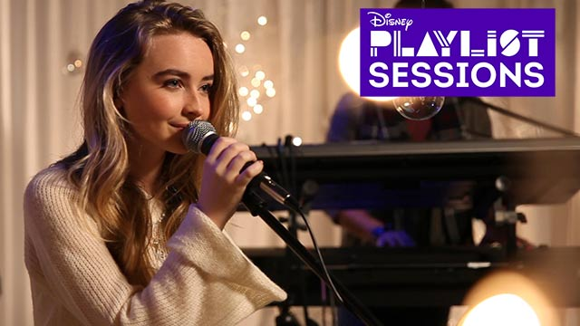 Home for the Holidays | Sabrina Carpenter | Disney Playlist Sessions