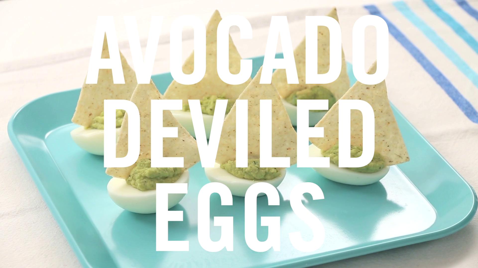 Avocado Deviled Eggs | Babble Eats