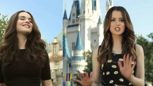 Vanessa and Laura Marano Rock Their Disney Side