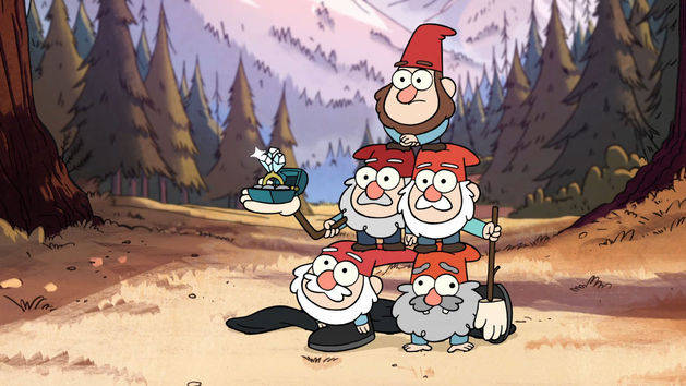 Holy Matri-gnome-y - Gravity Falls Clip