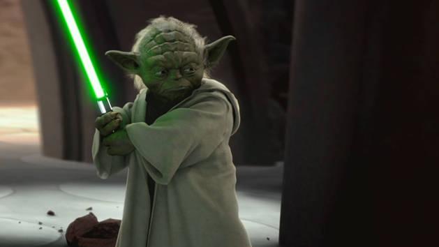 Star Wars - Yoda vs. Grev Dooku