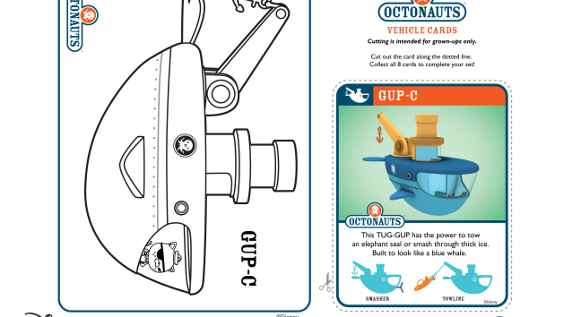 Octonauts Coloring Page. Simple Free Octonauts Printable Coloring ...