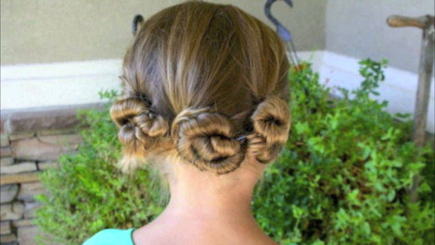 Terrific Triple Twist and Pin Hair!