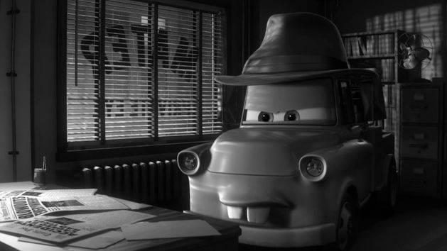 Çizgi Arabalar - Dedektif Mater