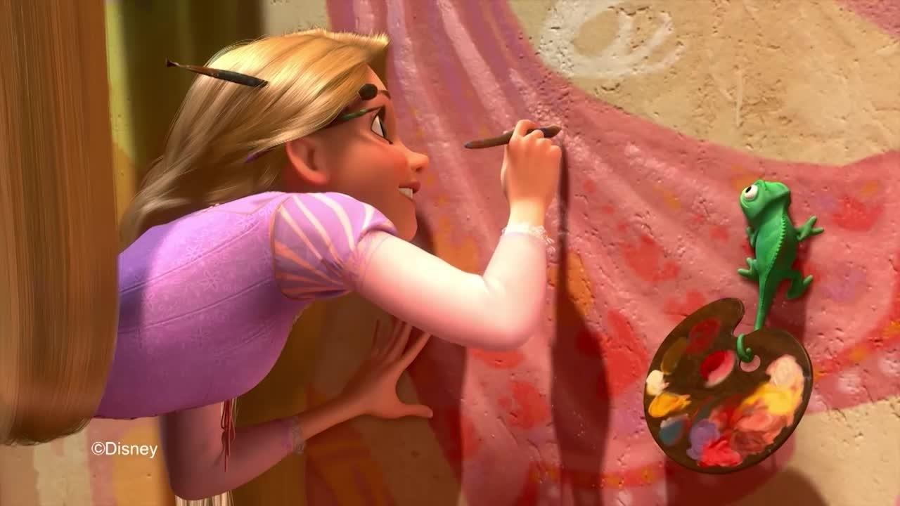 Sogna in grande principessa - Rapunzel