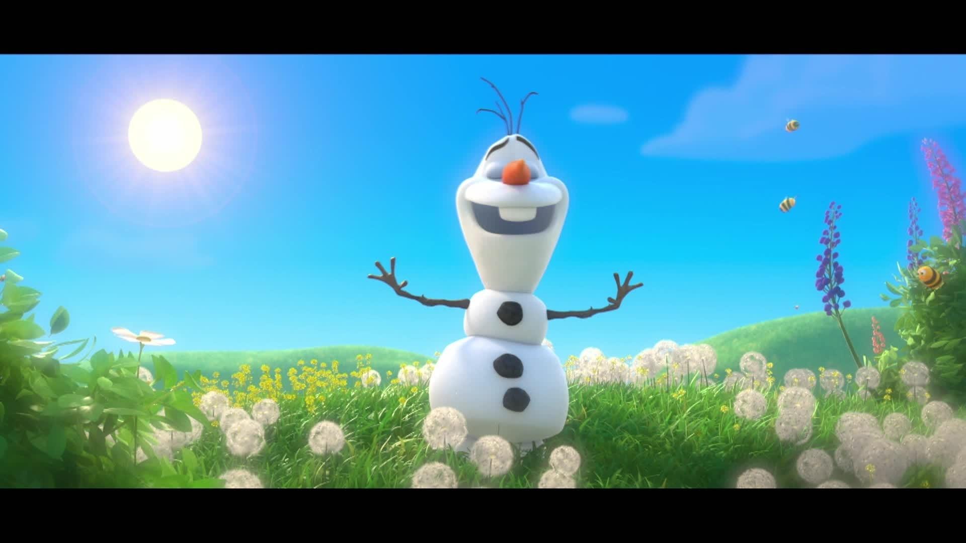 Los consejos veraniegos de Olaf - CREMA SOLAR
