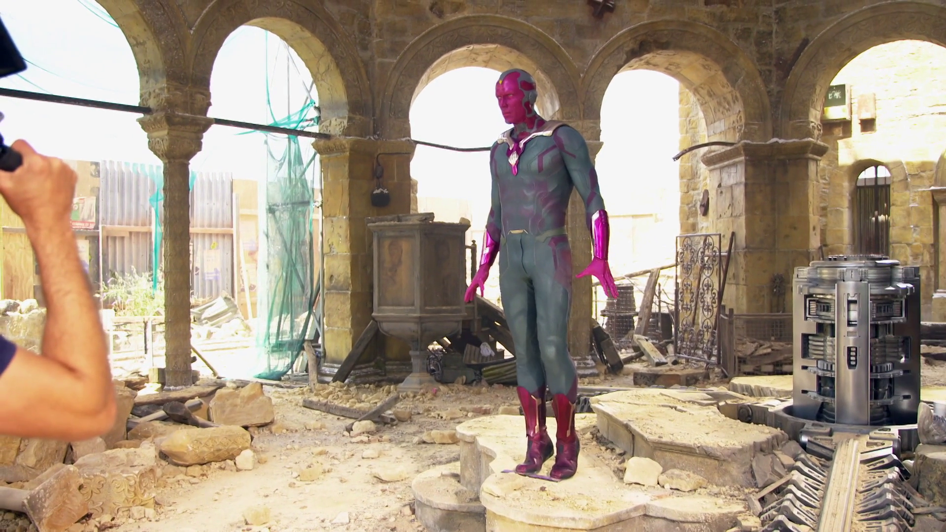 Uncanny Valley - Avengers: Age of Ultron Behind the Scenes