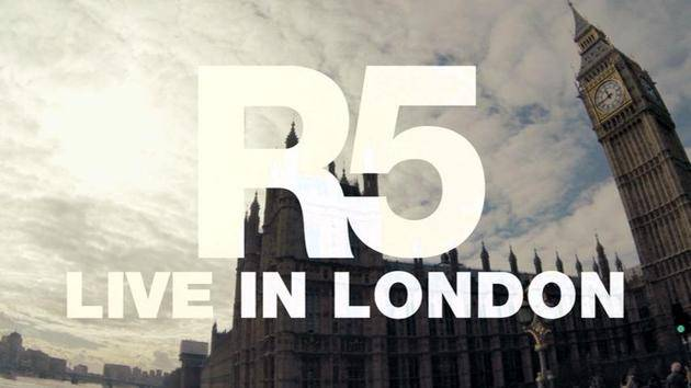 """One Last Dance"" (Live In London) - R5"