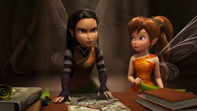 Nyx Talking with Queen Clarion - Tinker Bell and the Legend of the Neverbeast Clip