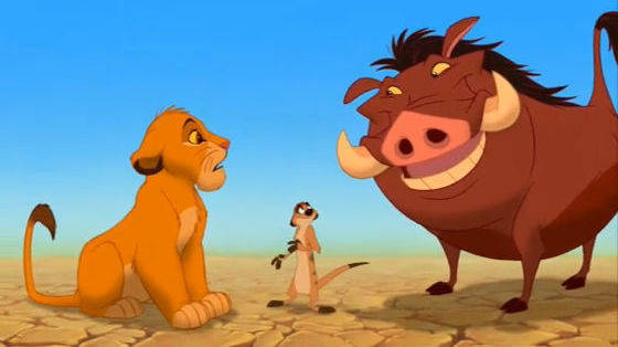 Il re leone:Hakuna Matata