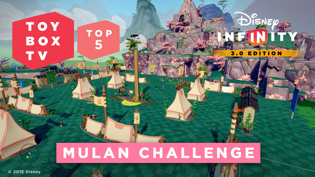Disney Infinity Mulan Challenge  - Top 5 Toy Boxes - Disney Infinity Toy Box TV