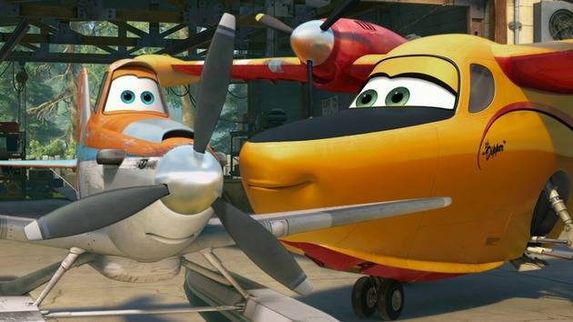 """I like watching you sleep."" - Dipper Bomb - Planes: Fire & Rescue"