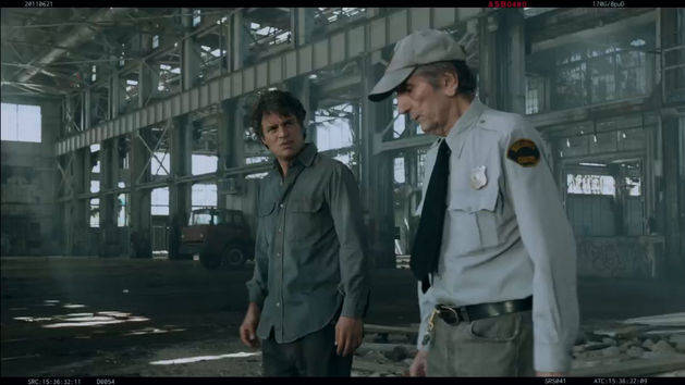 Bruce Banner and the Security Guard (Deleted Scene)