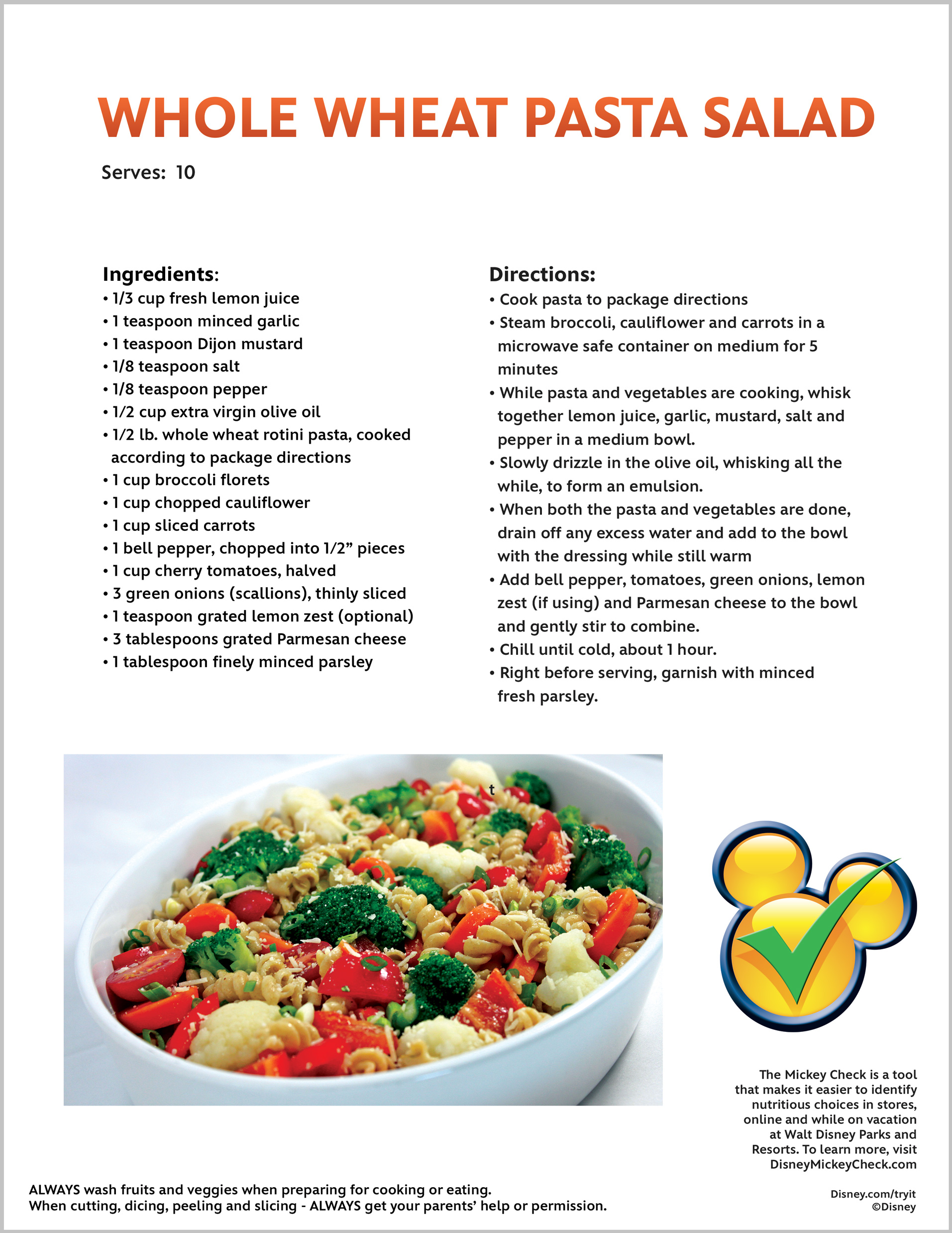 Recipes | Disney Citizenship
