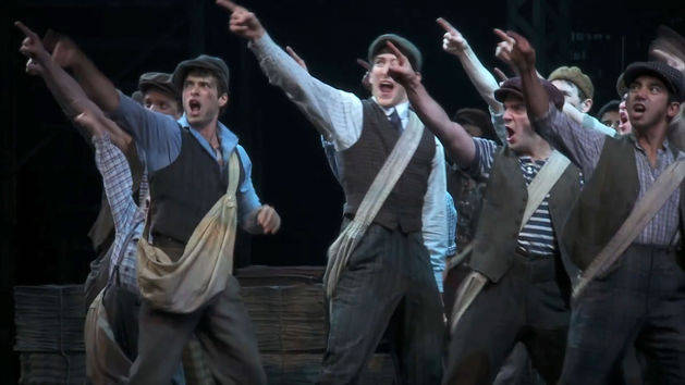 Newsies: Corey Cott Plays Jack Kelly