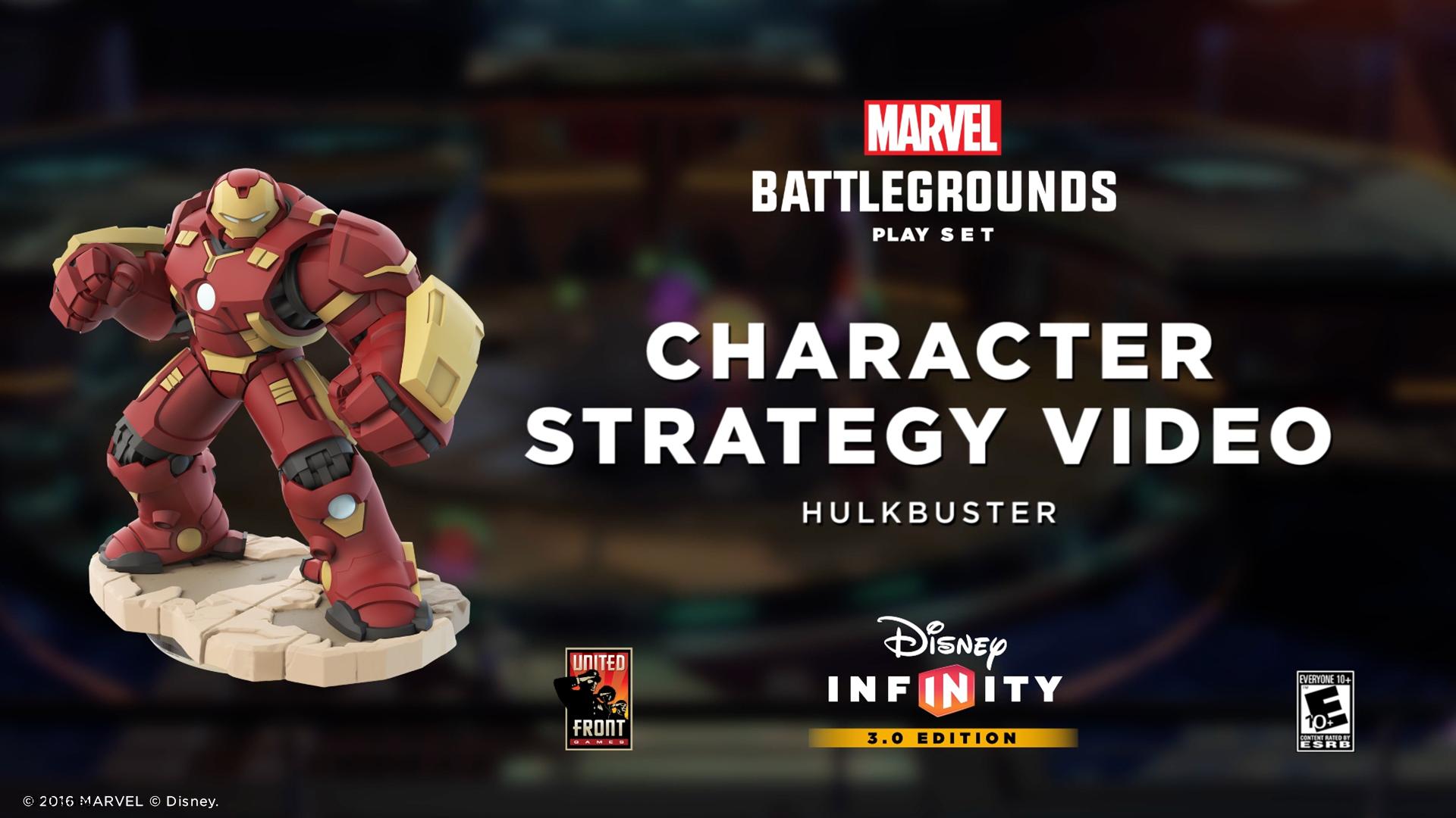 Hulkbuster   Marvel Battlegrounds Strategy Video   Disney Infinity 3.0