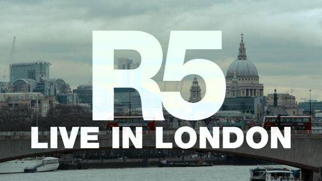"""Ain't No Way We're Goin' Home"" (Live In London) - R5"