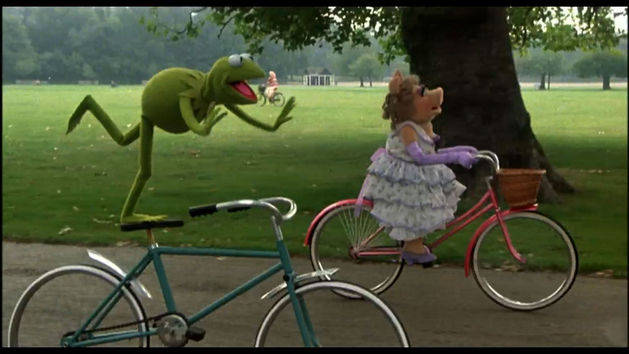 Bicycle Scene - The Great Muppet Caper Clip