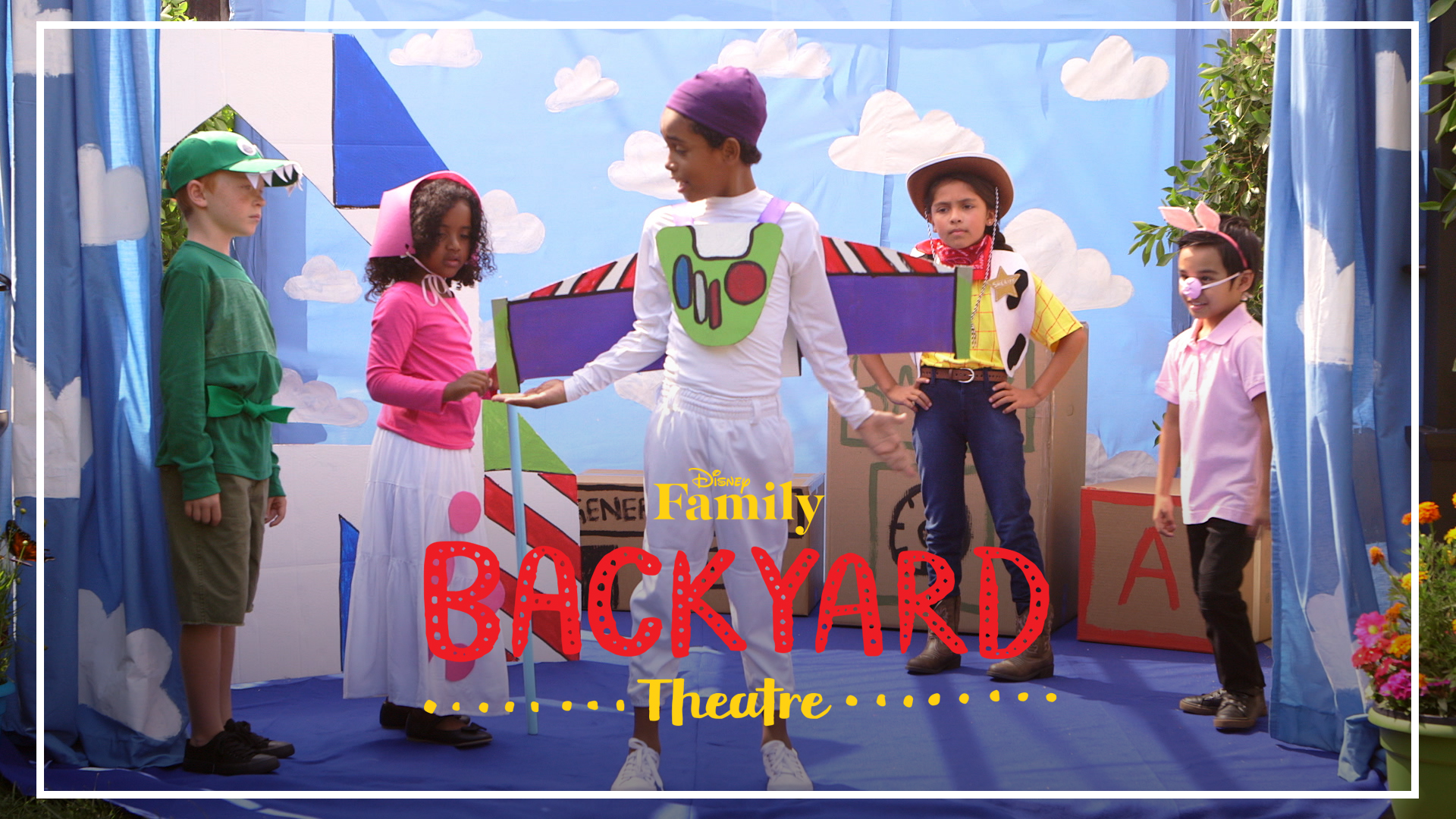 Backyard Theatre: Toy Story Performance | Disney Family