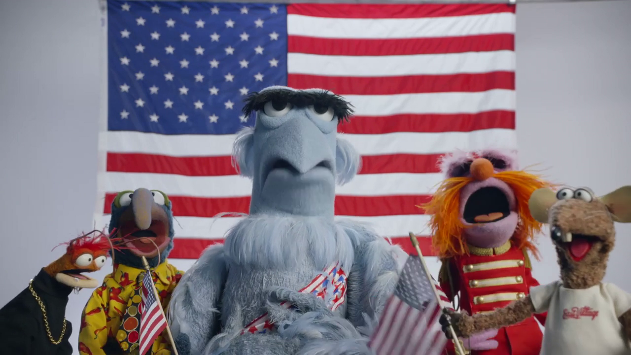 Happy Fourth of July From Sam Eagle and The Muppets!