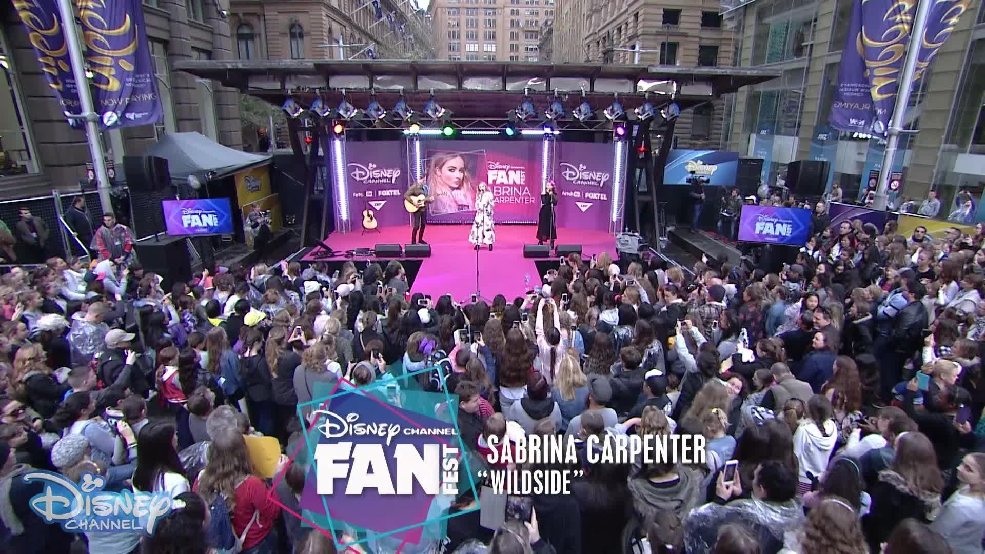 FanFest 2016 - Wildside: Sabrina Carpenter