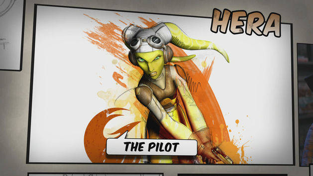 Star Wars Rebels: Meet Hera, the Pilot