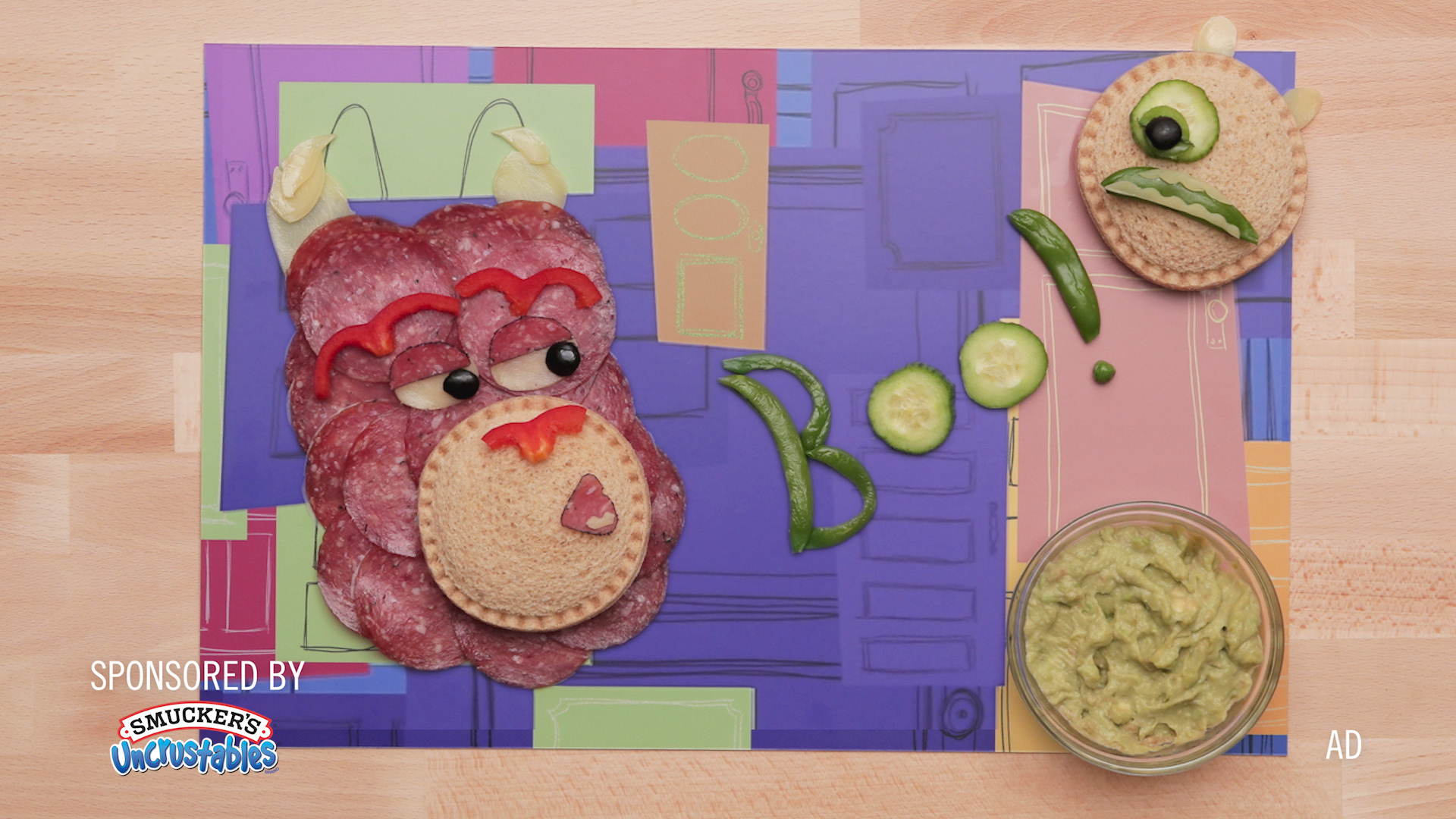 Monsters Inc - Inspired Food Art