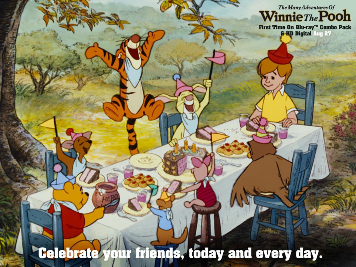 Winnie the Pooh Friendship Gallery