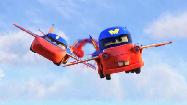 Καρτούν από τα Αυτοκίνητα - Ο Μπάρμπας πετάει