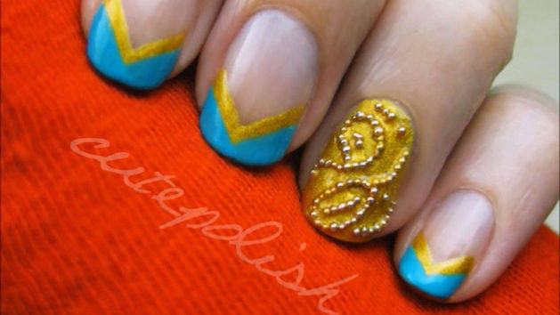 Brave Nail Design Tutorial