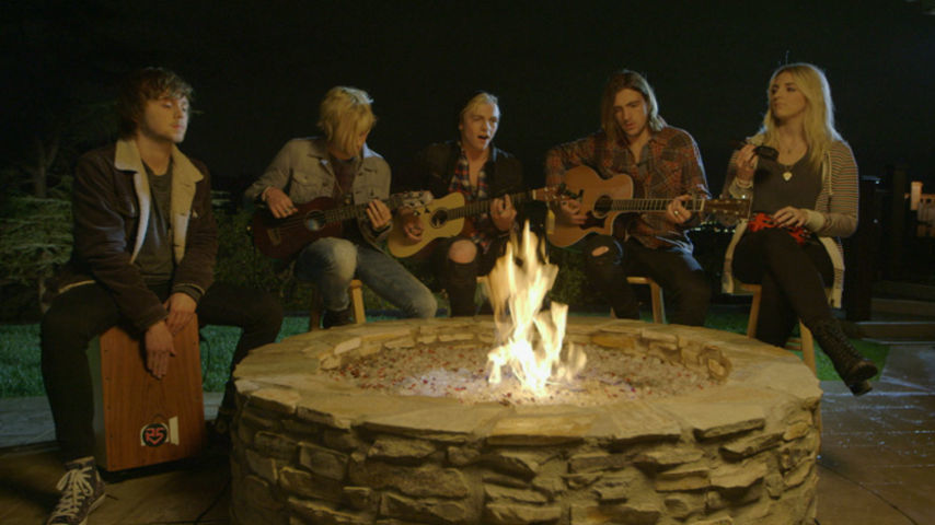 "All Day, All Night: ""Let's Not Be Alone Tonight"" (Live Performance) - R5"
