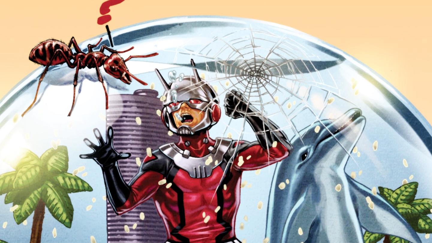 Homem-Formiga - Heróis em um minuto