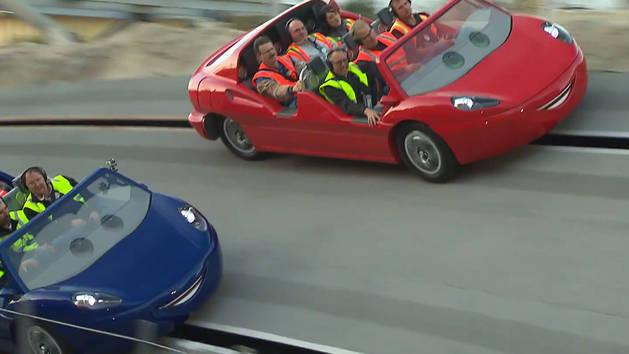 Cars Land: Ride Testing