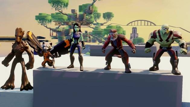 Guardians of the Galaxy Play Set Trailer - Disney Infinity: Marvel Super Heroes (2.0 Edition)