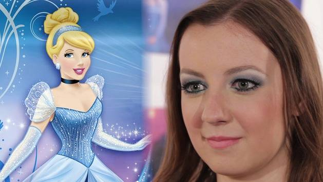 Cinderella-Inspired Makeup Tutorial - Disney Style
