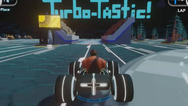 Ralph vs. Turbo - DISNEY INFINITY Toy Box
